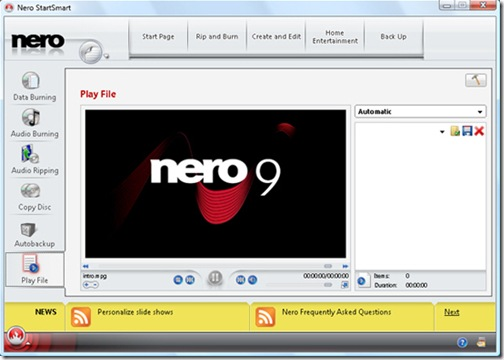Nero 9 Released, Download your Free Copy