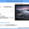 Customize the Lock Screen in Windows 8