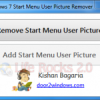 Enable/Disable User Picture in Windows 7 Start Menu