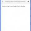 Scratchpad- Notepad for Chrome with Google Docs Integration