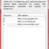 Auto Complete URLs in Firefox with Keywords- URL Keyword Completer