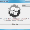 Boot Windows 7 from USB with Windows 7 SBB Tool