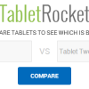 TabletRocket- Compare Tablets Side by Side with Specs and Benchmarks