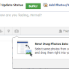 Drag and Drop Photos to Upload to Facebook