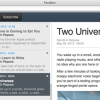 FeedBin—A Web Based RSS Feed Reader