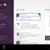Twitter and Facebook app for Windows 8
