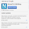 Google+ Widget for your Blog or Website