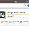 Search Extension for Google Plus