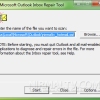 Repair Outlook PST Files with Inbox Repair Tool