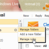 Create Rules in Windows Live Hotmail