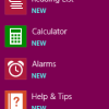 New Apps in Windows 8.1