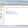 Analyze Outlook Profile Problems with Outlook Configuration Analyzer Tool