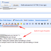 Get Outlook Like Styling for Gmail when Replying to Emails