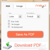 Convert Web Page to Printer Friendly PDF or Image with iWeb2x [Extension]