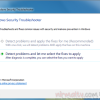 Diagnose and Fix Security Related Problems in Windows