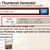 Create Thumbnails Online with Thumboo