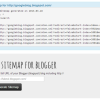 How to Create a Google Sitemap to your Blogger (Blogspot) Blog