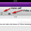 Voice Calls and Video Chatting from iPad 2 using Yahoo Messenger