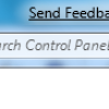 How to Remove the Send Feedback Link in Windows 7