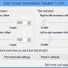 Start Screen Animations Tweaker for Windows 8