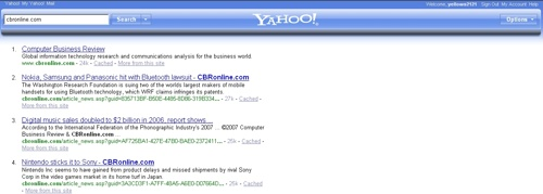 Yahoo New look